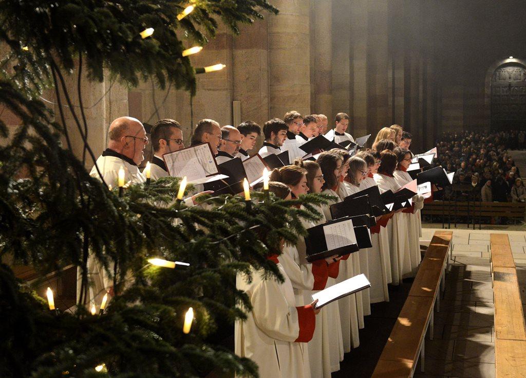 Advent und Weihnachten am Dom zu Speyer
